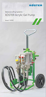 Injection Pump for KÖSTER Acrylate Gels